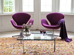 plum chairs