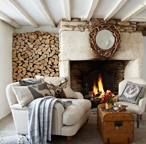 Rustic goes glam